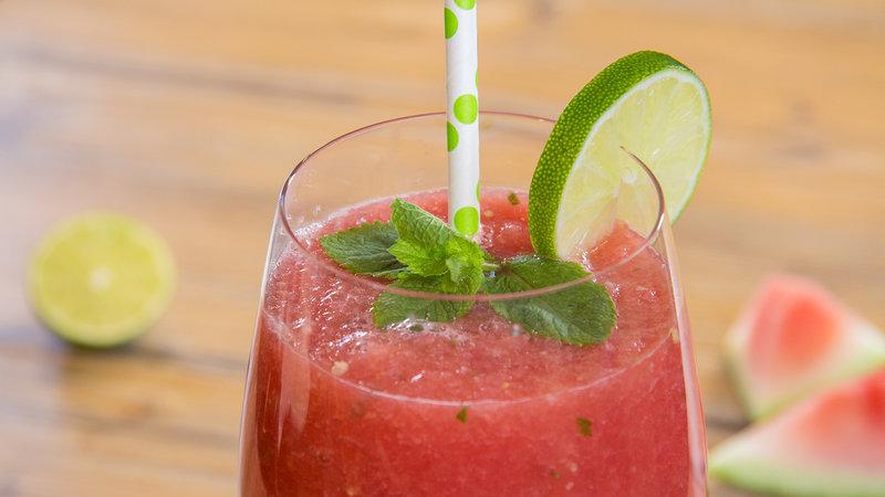 Wonderfully Refreshing Watermelon Mint Drink