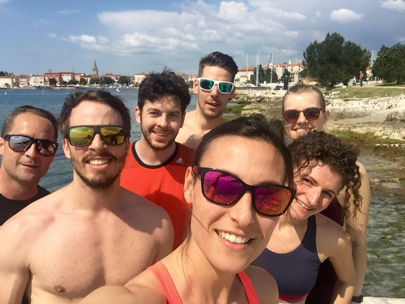 Runtastics am Meer in Kroatien