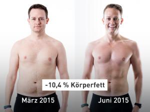 -109 kg: So viel haben diese Results-Nutzer abgespeckt