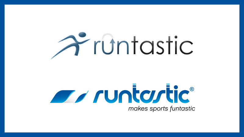 Image of old Runtastic logos.