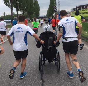 Wir liefen für alle, die selbst nicht laufen können #WFLWR