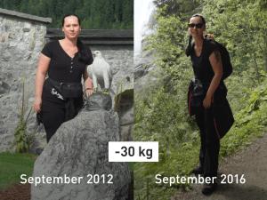 Vom Sportmuffel zum Sportfan: so hat Manuela 30 kg abgenommen