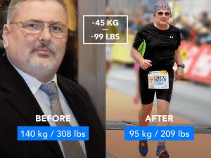 From 140 kg (308 lb) to Running a Half Marathon