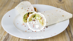 Schnelles Rezept für einen Avocado-Hühner-Wrap (Du wirst ihn lieben!)