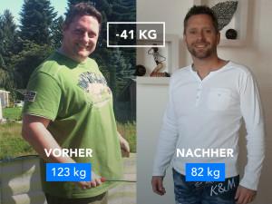 """""""Ich habe 41 kg verloren – hier ist meine Geschichte"""""""