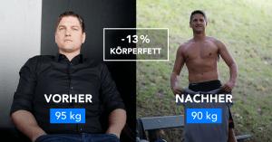 """Von 95 auf 90 kg: """"Es kommt nicht aufs Gewicht an"""""""