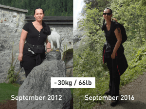 From Couch Potato to Fitness Fan: How Manuela Lost 30 kg (66 lbs)