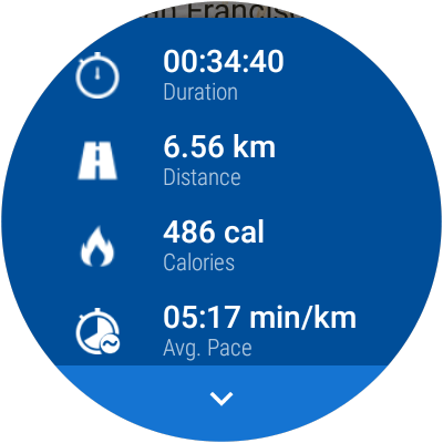Android Wear Session Detail