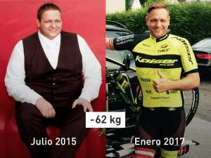 """-62 kg: """"Sabía que no viviría para ver mi 40 cumpleaños"""""""