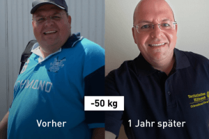 -50 kg: So nahm Jan ab und besiegte seinen Diabetes