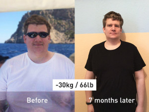 How Pascal Managed to Lose 30 kg (66 lb) in 7 Months