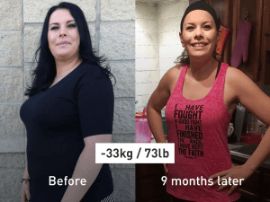 -73 lb (-33 kg) by Running: I Set My Start Date and Never Looked Back