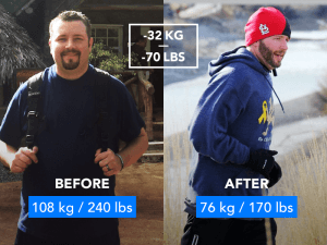 Weight Loss with Runtastic: The 7 Best Before & After Photos