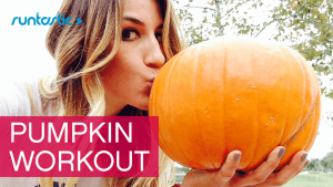 Get Fit For Fall: Workout With A Pumpkin