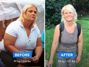 "-44 kg: ""Running Is Now My Favorite Sport"""