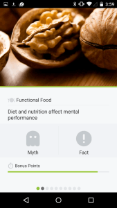 Android Users: Do You Know Nutrition Facts from Nutrition Myths?