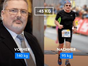 Von 140 kg zum Halbmarathon