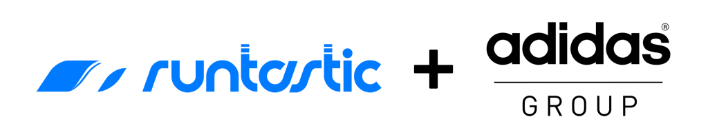 Logo von Runtastic und adidas.