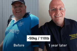 How Love Helped Jan Lose 50 kg (110 lb) and Control His Diabetes