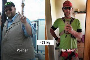 -79 kg: Wie Lutz abgenommen hat und seit 2.081 Tagen in Folge läuft