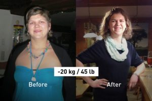 How the Balance App Helped Michaela Lose 20 kg (45 lb)