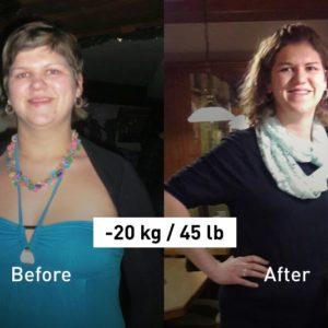 How the Balance App Helped Michaela Lose 20 kg (45 lb)