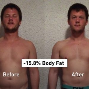 Results App: How Vincent Lost 15.8% of His Body Fat
