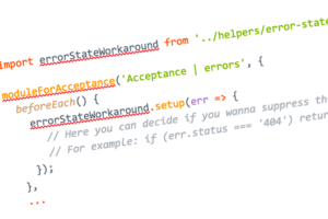 Easy Testing of Ember Error States