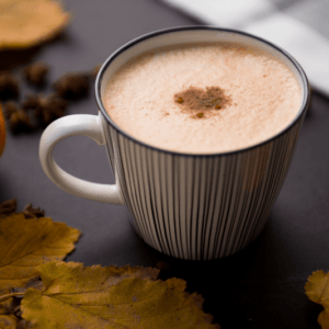 Low-Calorie Homemade Cup of Autumn >> Pumpkin Spice Latte