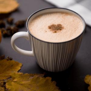 Kalorienarmes Wohlfühlgetränk im Herbst >> Pumpkin-Spice-Latte