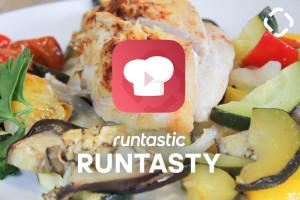 Hummus-Huhn mit Ofengemüse: das perfekte Low-Carb-Abendessen