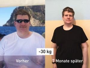 -30 kg in 7 Monaten! So hat es Pascal geschafft