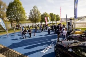 Runtastic eröffnet Fitness Park und belebt die Stadt