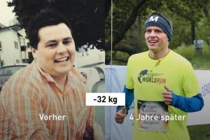 """Bennis Abnehmgeheimnis (-32 kg): """"Einfach loslaufen!"""""""