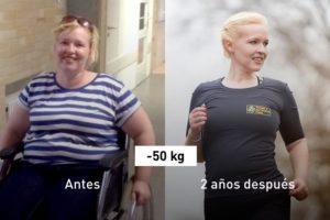110 kg: cómo Janin se recuperó tras tocar fondo