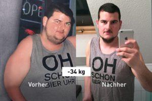 -34 kg: Mit Food Tracking und Laufen erreichte Julian sein Traumgewicht