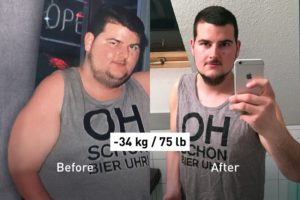 -34 kg: Food Tracking and Running Helped Julian Reach His Ideal Weight