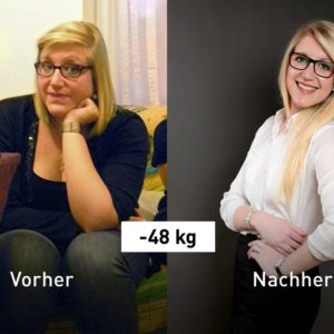 Von 108 kg auf 60 kg: Das ist Audreys Erfolgsgeheimnis