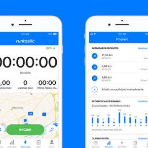 Nueva app Runtastic 8.0: nuevo diseño