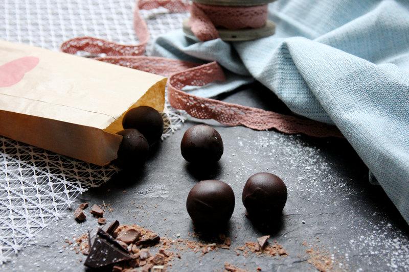 Bolas de mantequilla de cacahuete sin horno