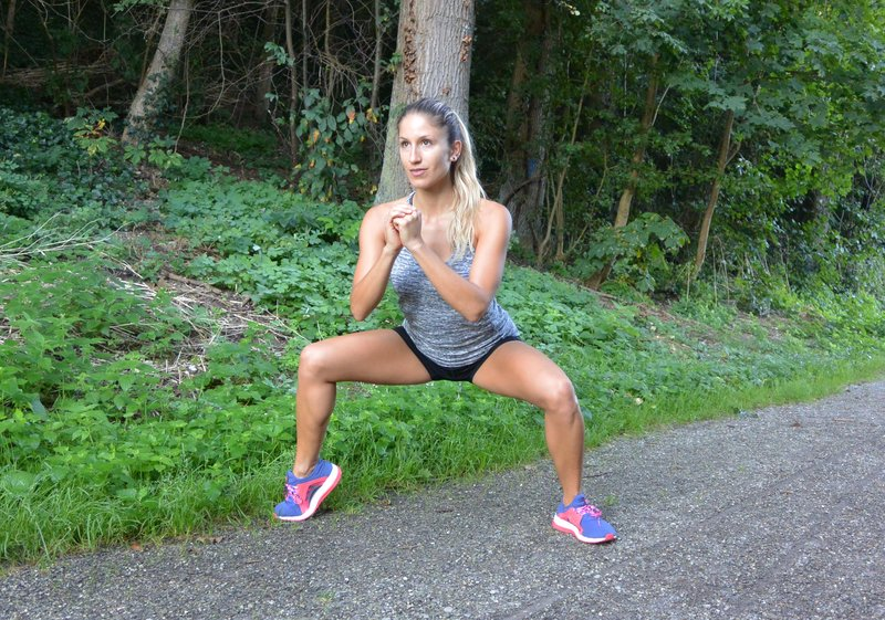 Plie Squat + Heel Raises