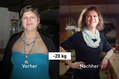 -20 kg: Michaela hat mit der Balance App erfolgreich abgenommen