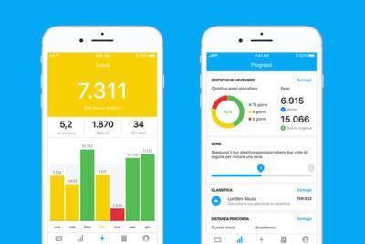 La nuova app di Runtastic per contare i passi: Me diventa Steps