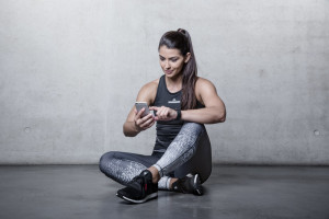Runtastic Newsfeed in der Steps App, Runtastic App und Results App