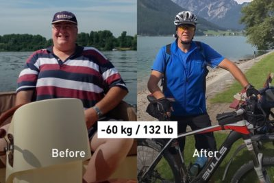 """Too Little Time and Too Much Stress Led Me to Weigh 167 kg"""