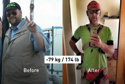 2,081 Days in a Row: How Lutz Has Lost -79 kg by Running