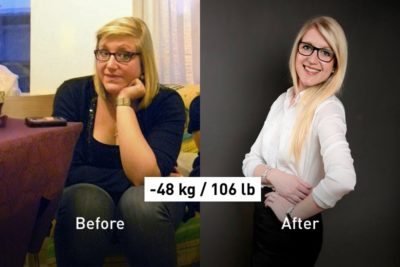 Dropped from 108 kg to 60 kg: Audrey Shares Her Secret of Success