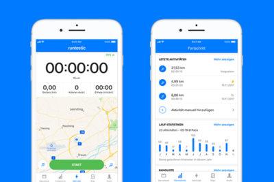 Die neue Runtastic App 8.0: Frisches Design, gleiches Ziel!