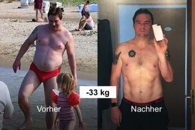 -33 kg: André hat die Leidenschaft fürs Laufen gepackt