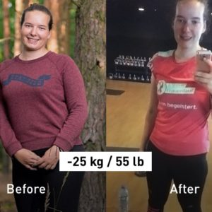 "-25 kg (55 lb): ""I Finally Achieved My New Year's Resolution!"""